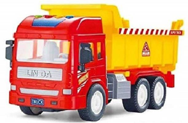 Ruby Dump truck big size with light and music ( Multi color )