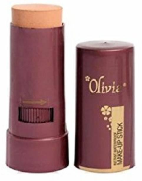 Olivia Waterproof Make Up Stick 02 Natural Rose, 15g Concealer