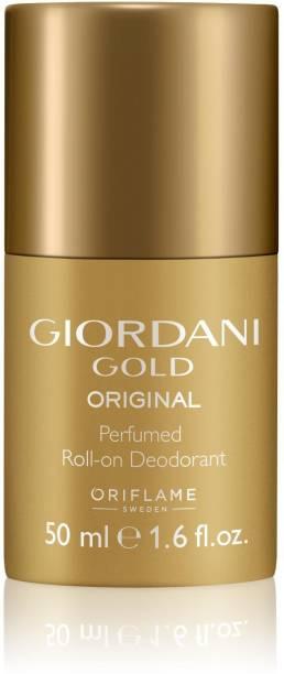 Oriflame GOLD ORIGINAL ROLL-ON DEODORANT Deodorant Roll-on  -  For Women