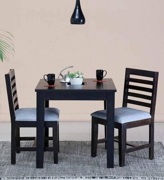 Divine Arts Sheesham Wood Solid Wood 2 Seater Dining Set
