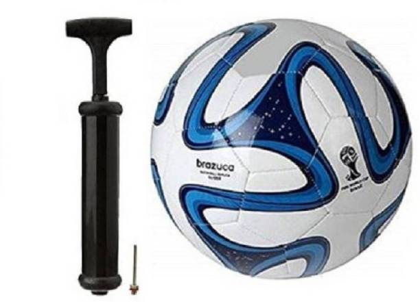 DIBACO SPORTS COMBO BLUE COLOR FOOTBALL WITH AIR PUMP Football Kit