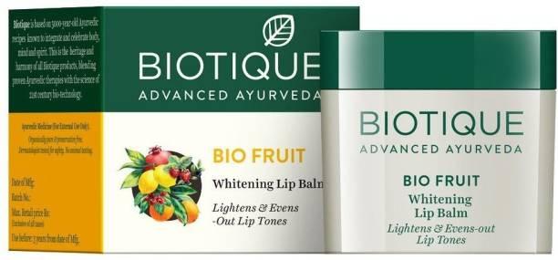 BIOTIQUE Bio Fruit Whitening Lip Balm, 12g Bio fruit