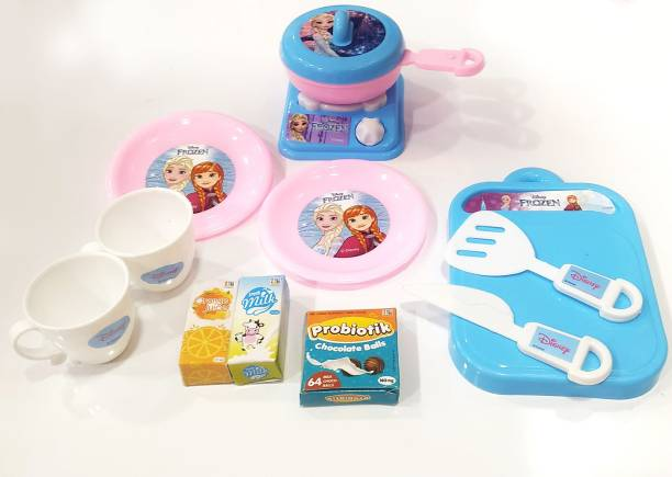 DISNEY Princess Elsa Role Play Kitchen Set for Kids