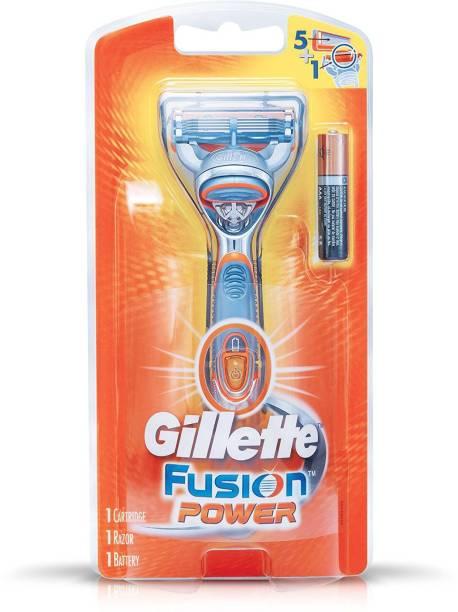 GILLETTE Fusion Power (5 Blade Shaving Surface Technology.. ) Shaving Razor
