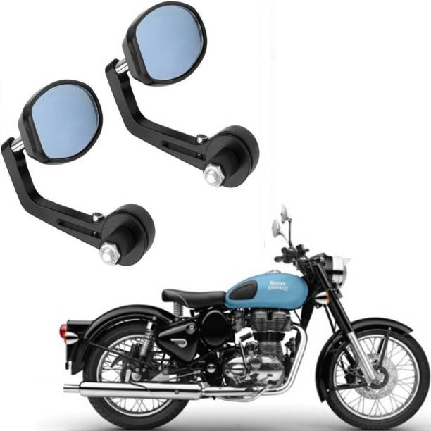 RK BEAUTY Manual Rear View Mirror, Driver Side For Royal Enfield Classic 350