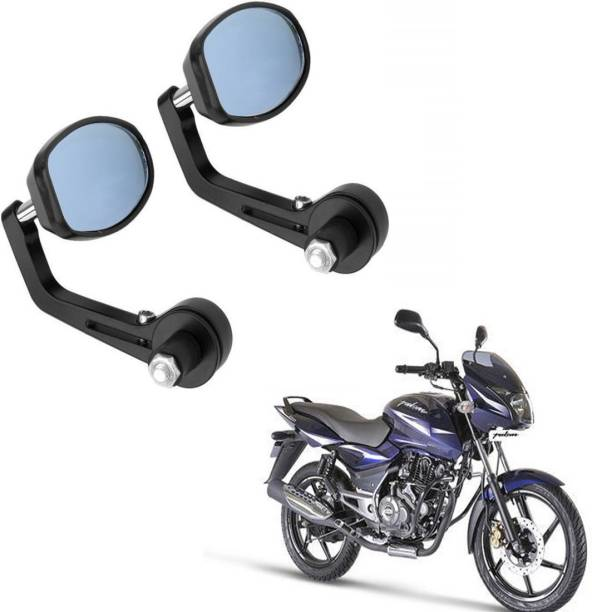 RWT Manual Rear View Mirror, Dual Mirror, Driver Side For Bajaj Pulsar 150 DTS-i