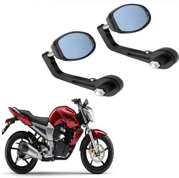BRPEARl Manual Rear View Mirror, Dual Mirror, Driver Side For Yamaha FZ16