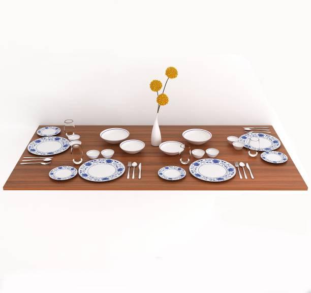 BLUEWUD Hemming Engineered Wood 4 Seater Dining Table