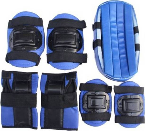 Lord 7 Pcs Skating Roller Wrist Elbow Knee Pads Protective Gear (Size-L) Skating Guard Combo