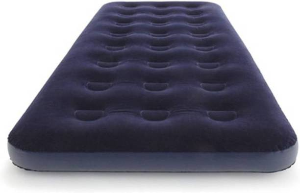 GTC Air mattress Flocked Airbed (67000) PP 1 Seater Inflatable Sofa