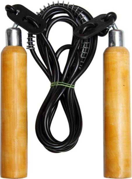 COMPASS Wooden Handle Jump Rope Freestyle Skipping Rope