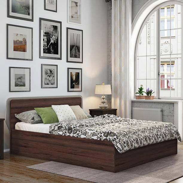 Urban Ladder Engineered Wood Queen Box Bed
