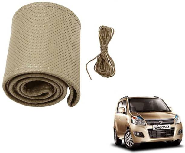 Auto Hub Hand Stiched Steering Cover For Maruti WagonR