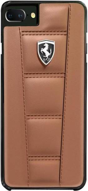 Ferrari Back Cover for Apple iPhone 7 Plus Official 458 Double Stitched Case