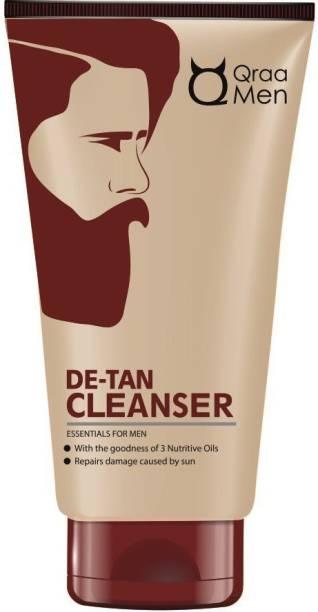 Qraa DeTAN CLEANSER FOR MEN