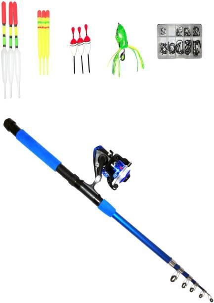 Brighht Blu 270 Full Combo Rod Set UT235 SET270LR69 Blue Fishing Rod