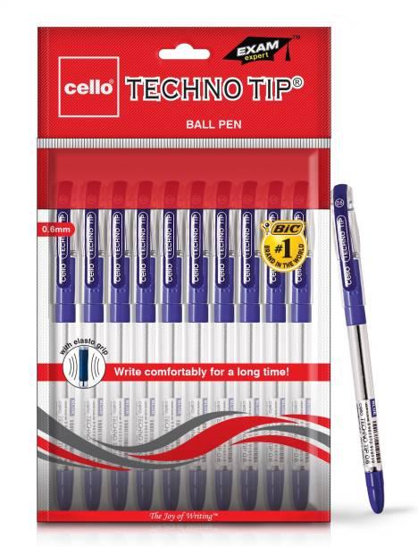 cello Technotip Blue Ball Pen