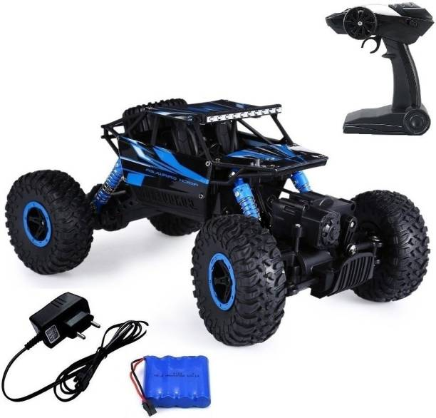 Rock Crawler 1:18 Scale 4WD 2.4 Ghz 4x4 RALLY CAR - Blue