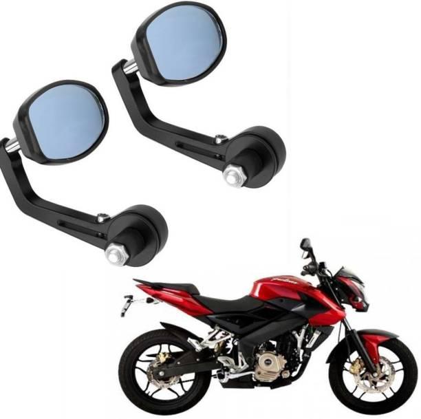RK BEAUTY Manual Rear View Mirror, Driver Side For Bajaj Pulsar 200 NS DTS-i