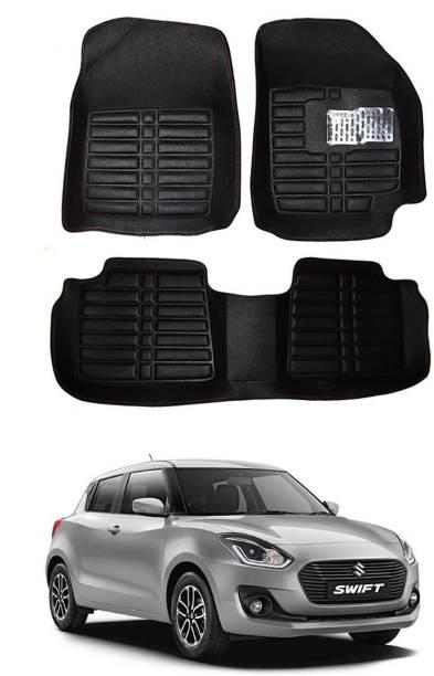 MATIES Plastic, Rubber 5D Mat For  Maruti Suzuki Swift