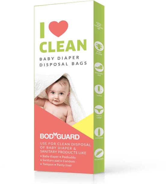 8cd1b4902e431 BodyGuard Baby Diapers and Sanitary Disposal Bag - 15 Bags Disposal Bag