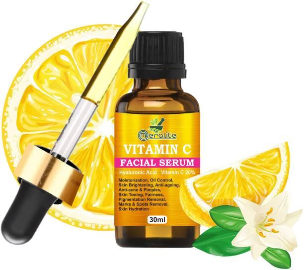 Meralite Vitamin C Serum For Face Pigmentation And Oily Skin