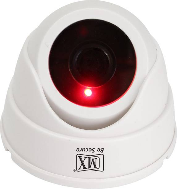 MX Dummy Fake Infrared Sensor Dome Wireless Security Camera With Red Led Realistic Looking CCTV Surveillance - Dummy4 MADE IN INDIA Security Camera
