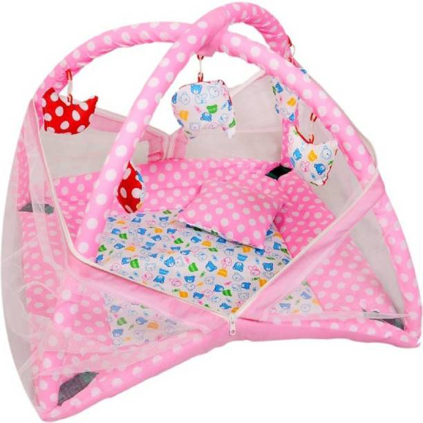 babique Cotton Infants baby mosquito net Mosquito Net