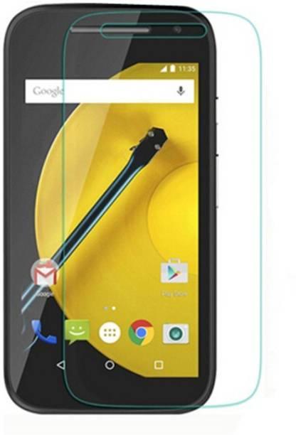 Mudshi Tempered Glass Guard for Motorola Moto E (2nd Gen) 3G