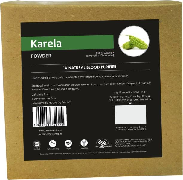 Herb Essential Karela Powder 227g