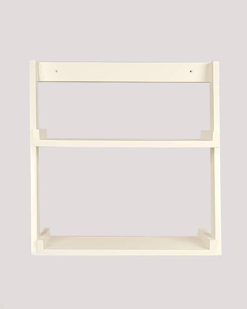 Lycka Solid Wood Open Book Shelf