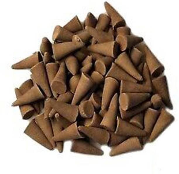 Indeavour Sandalwood Fragrance Dhoop Batti (Pack of 100) - Jar Not Available Sandal Dhoop