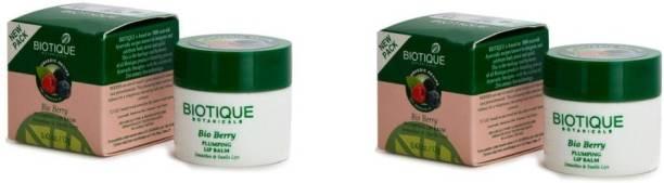 BIOTIQUE Bio Fruit Whitening Lip Balm, 12g - Pack of 2 Fruit