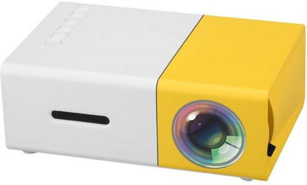 V.T.I LED Corded Cinema Full HD Portable Projector Portable Projector 400 lm LED Corded Portable Projector