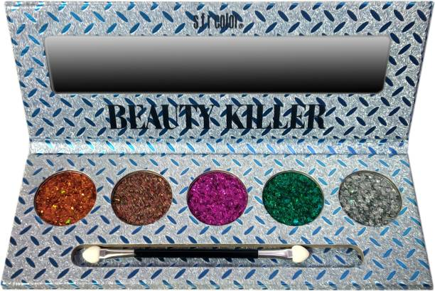 s.f.r color Beauty Killer-5 Actractive Multipurpuse-Eyeshadow Glitter