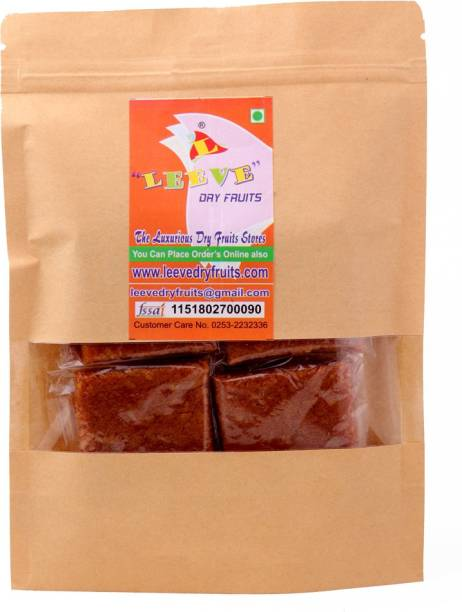 Leeve Dry fruits Sweet Coconut Chikki, 400 gram Pouch