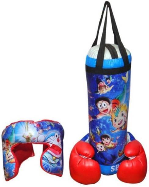 Kiyara Collection Doraemon punching bag kids Boxing kit toy for kids Boxing