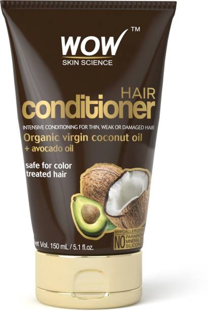 WOW SKIN SCIENCE Coconut Avocado Hair Conditioner 150ml TUBE