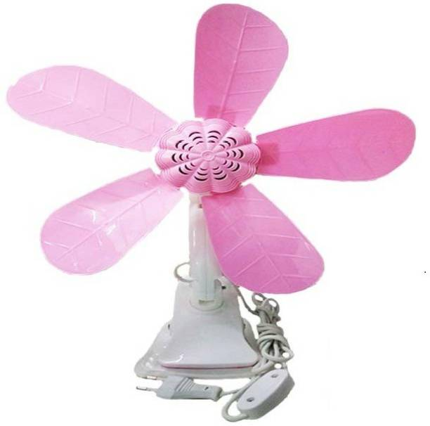 Spark Portable 420mm 5 Blades Clip Fan/Desk Fan/Clamp Fan/Table Fan 45 mm 5 Blade Table Fan
