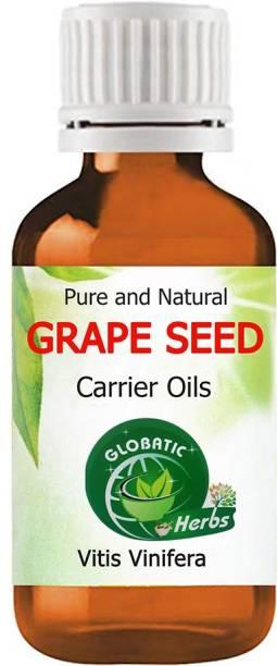 GLOBATIC Herbs Grape Seed carrier Essential Oil Vitis vinifera 50 ML Pure & 100% Undiluted