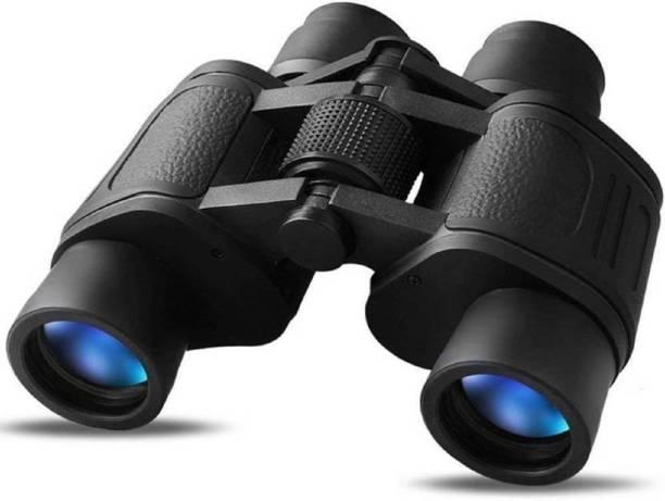 WOLBLIX 8 X 40 HD Binoculars 10X Zoom Folding Powerful Lens Portable Binocular Telescope With Bag Outdoor Binoculars For Long Distance , bird watching,wildlife (Adults ,children,kids) Binoculars (40, Black) Binoculars