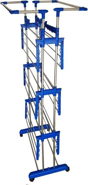 lakshay Steel Floor Cloth Dryer Stand ghoolm0558D