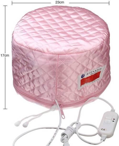 Labdhi Creation Hair Beauty Nourishing Steamer Satin Thermal Treatment Cap (Pink) Hair Steamer