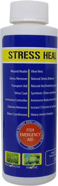 AQUATIC REMEDIES Stress Heal Water Conditioner, 100ml Pet Health Supplements