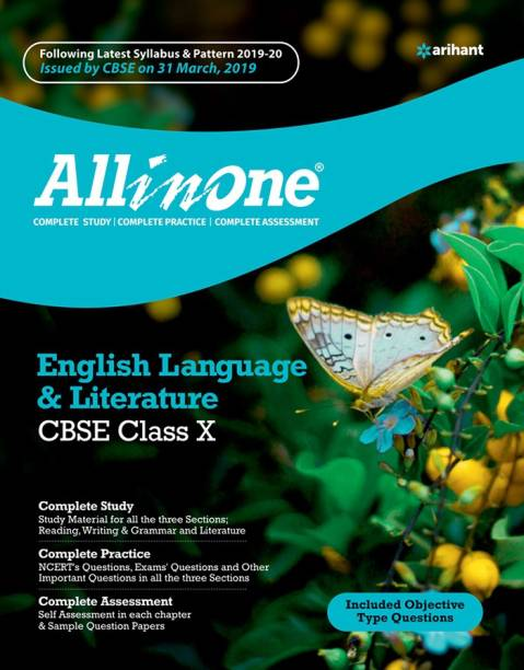 All in One English Language & Literature Cbse Class 10 2019-20 - All In One English Language & Literature CBSE class 10
