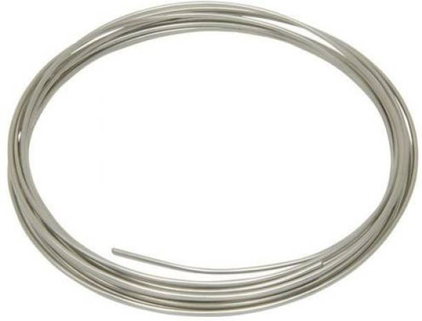 Easy Electronics Nichrome Wire - Heat Resistance Wire, Heating Coils, Foam cutting wire Silver 1 m Wire