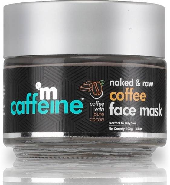 MCaffeine Naked & Raw Coffee Face Mask - Tan Removal