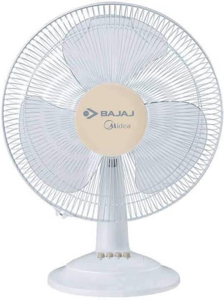 BAJAJ Midea BT07 400 mm Table Fan 400 mm 3 Blade Table Fan
