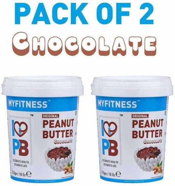 MYFITNESS Chocolate Peanut Butter 510 g