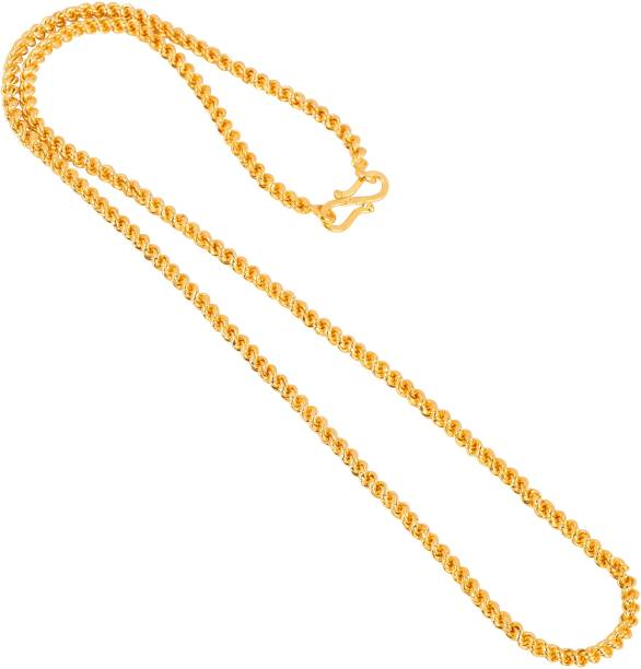 e6cca3bfe1108 Gold Plated Chain - Buy Gold Plated Chain online at Best Prices in ...